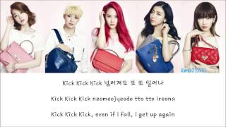 f(x) - Kick [Hangul/Romanization/English] Color & Picture Coded HD