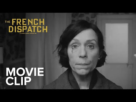 The French Dispatch (2021) Clip Trailer