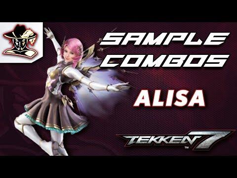 Tekken 7: Alisa - Staple Combos