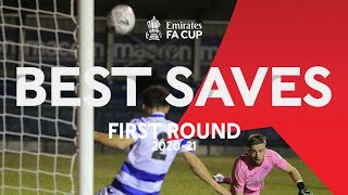 Best First Round Saves and Clearances | Emirates FA Cup 20-21