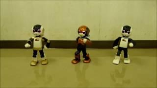 ロビ君「3体で年下の男の子踊るよ」Robi東京オフ会