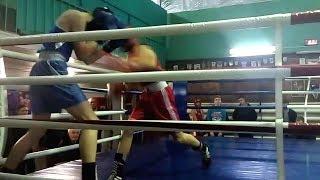 БОКС Полуфинал | ОТКАЗ Секунданта | Чемпионат г. Сумы 2.02.2018