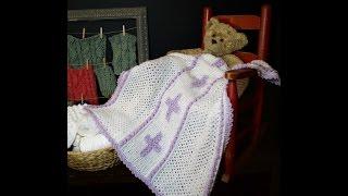 Celtic Cross For Baby Blanket (Part 2)