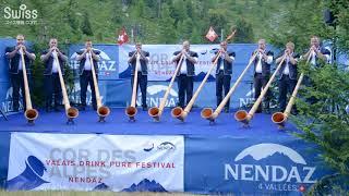 国際アルプホルン大会 (International Alphorn Festival) 2018.07.22【スイス情報.com】