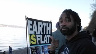 Flat Earth Activism @Owen Beach (30 March 19)
