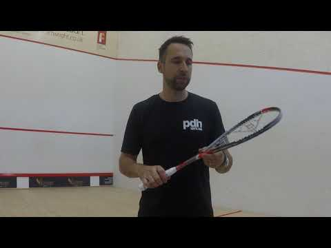Farag Dunlop Hyperfibre+ Revelation Pro Squash Racket review by PDHSports.com