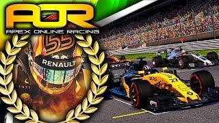 Apex Online Racing F1 2017 Highlights | Round 13 Japan
