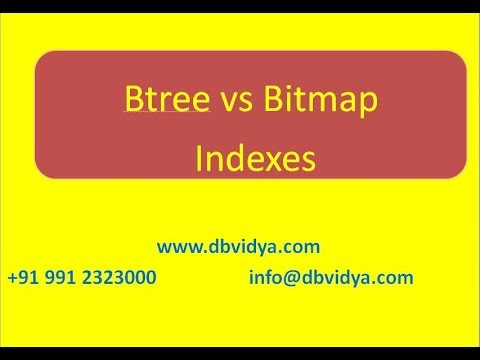 btree vs bitmap