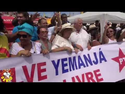 Pt de Salvador faz homenagem ao Lula na Festa de Iemanjá 2019