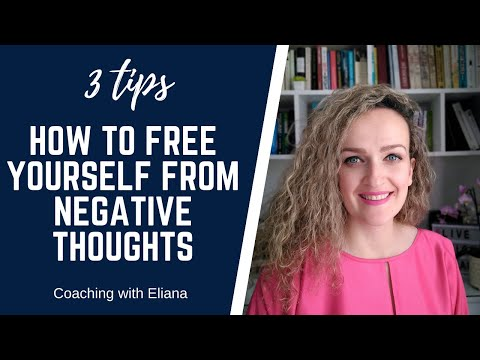 We all experience negative thoughts time after time. However, it's important to remember that you also have control on how to manage them and free yourself from them when and if they occur.   In this video I share 3 tips how to free yourself from negative