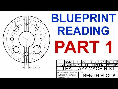 BLUEPRINT READING PART 1, Marc L'Ecuyer - YouTube