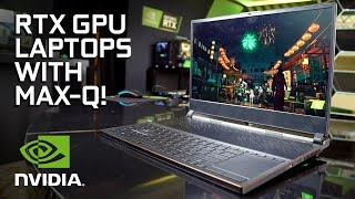 40+ RTX Laptops Are On the Way!