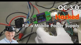 #244 QC3.0 Hacking and Tutorial incl. QC2.0 (Mobile Power Supply) Quick charge with Arduino