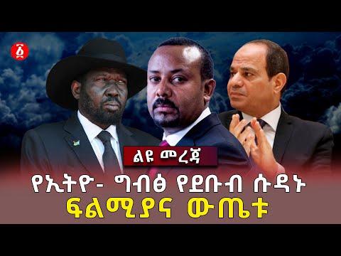 የኢትዮ- ግብፅ የደቡብ ሱዳኑ ፍልሚያና ውጤቱ | Salva Kiir Mayardit | Abdel Fattah el-Sisi | Abiy Ahmed | Ethiopia