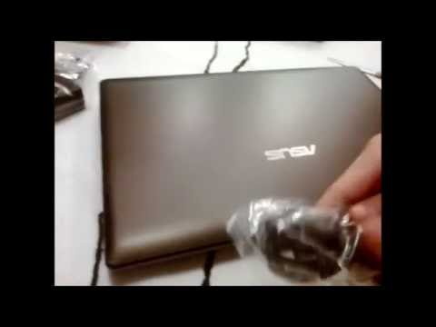 ASUS K55VD 8GB Unboxing