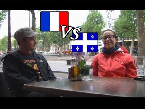 French in Quebec vs France: interview en français with subtitles (accent, attitude, history, curses)