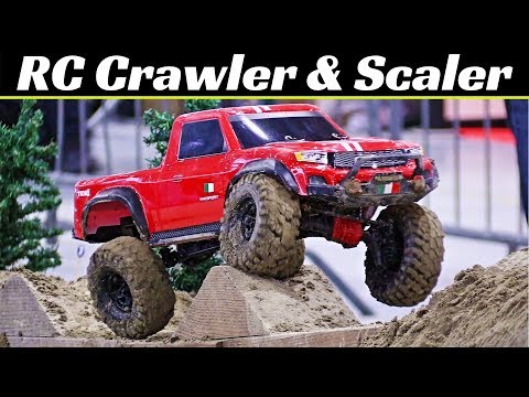 RC 4x4 Crawler & Scaler Extreme Indoor Track - Axial, RC4WD, Tamiya, Gmade - Model Game Bologna 2018