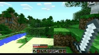 Нуб играет в Minecraft часть 6 ( КРАСОТИЩААААА )