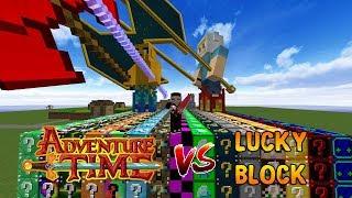 ADVENTURE TİME VS ŞANS BLOKLARI! - Minecraft