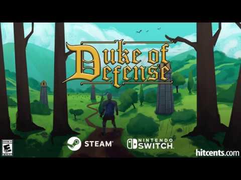 Duke of Defense - Gameplay Trailer [Nintendo Switch + Steam] thumbnail