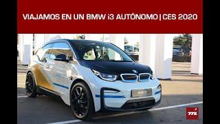 Viajamos en un BMW i3 autónomo: el CES 2020 como bola de cristal a un futuro 'driver free'