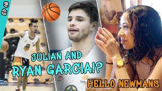 """That Boy COLD!"" Julian Newman Teams Up With Star Boxer Ryan Garcia! Ryan Drops BUCKETS!?"