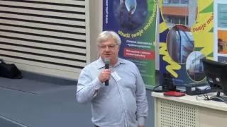 """""""W ogrodzie możliwości cyfrowej edukacji"""" - prof. dr hab. Lech Mankiewicz"""
