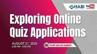 Exploring Online Quiz Applications