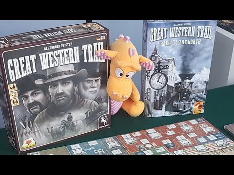Great Western Trail: Rails to the north - Gameplay Runthrough