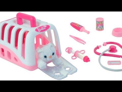 Barbie Tierarztkoffer mit Plüschkatze und Zubehör / Zestaw dla Weterynarza - Barbie - Theo Klein