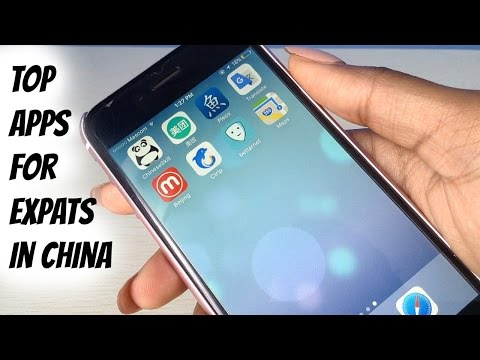 TOP APPS FOR EXPATS IN CHINA