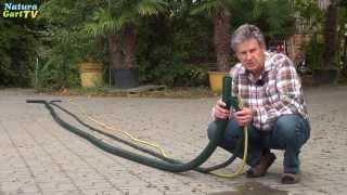 Wassertechnik - Die richtige Leitung für die Teichpumpe am Gartenteich