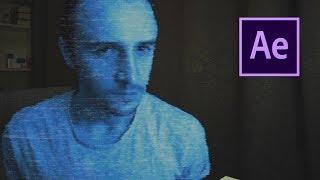 ГОЛОГРАММА в Adobe After Effects за 5 МИНУТ! ЭФФЕКТЫ В ВИДЕО