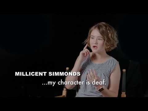 A Quiet Place Featurette 'Millicent Simmonds'