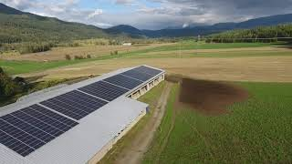 438 (152 kW) system in Enderby