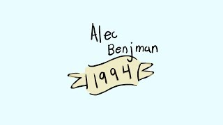 1994 By Alec Benjamin    Lyric (Animatic)