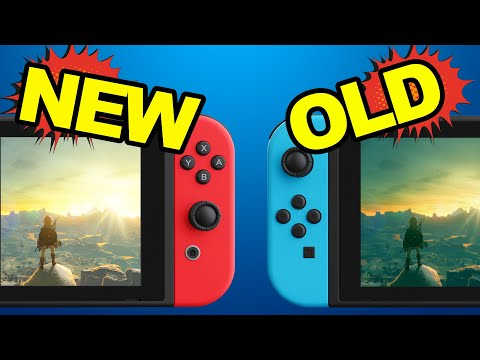 Old vs New Switch: What Nintendo didn&#39t tell you