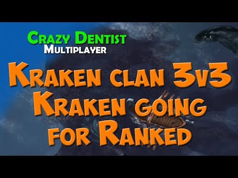 Northgard Kraken clan in 3v3 | Kraken going for Ranked Teamgame