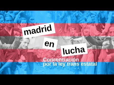 concentración ley trans estatal - madrid en lucha