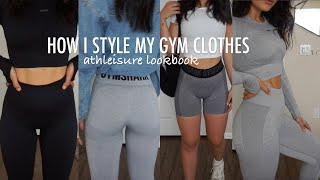 How I Style My Athleisure & Gym Outfits | Simple Looks With Basic Pieces