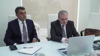 Online meeting of Foreign Minister Zohrab Mnatsakanyan with Nancy Pelosi, the Speaker of the United States House of Representatives