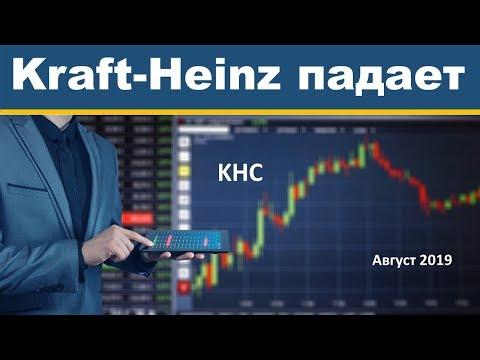 Обзор Крафт Хайнц. Компания Kraft Heinz (KHC) достигла минимума.