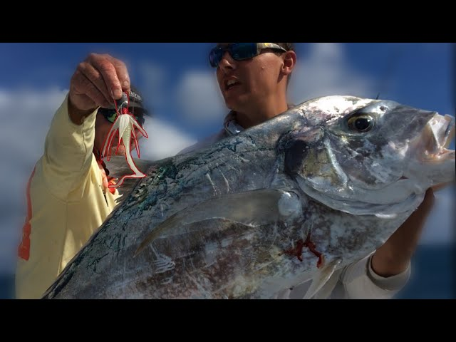 RARE African Pompano On A JIG & Mutton {Catch,Clean}