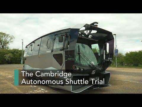 Cambridge launches electric autonomous shuttles