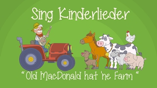 Old MacDonald hat 'ne Farm - Kinderlieder zum Mitsingen | Sing Kinderlieder