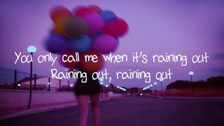 Gnash   You Only Call Me When It's Raining Out (Lyric Video)