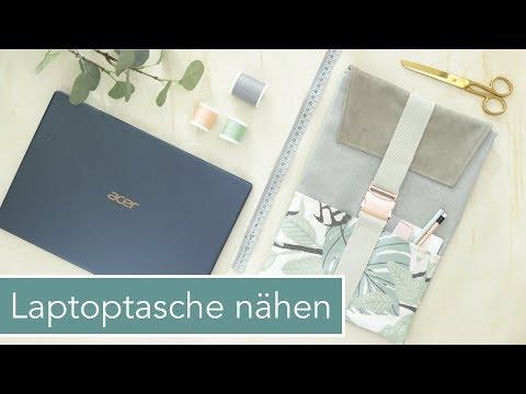 Passgenaue Laptoptasche nähen | Mega Verlosung!