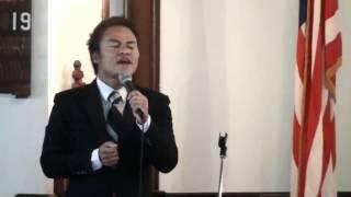 Vanlalsailova Sings Thank You At SVPC