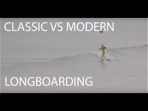 CLASSIC VS MODERN LONGBOARDING, A DECADE OF LONGBOARD