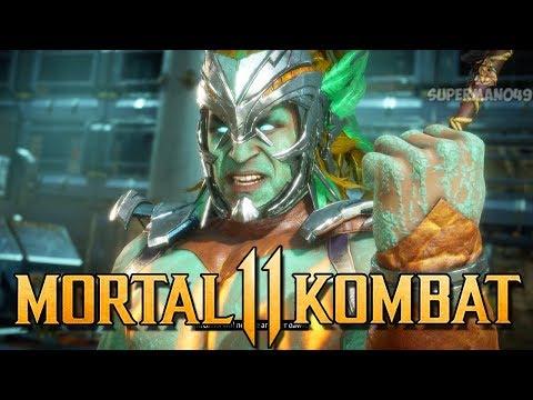 "Absolutely AMAZING Kotal Kahn FINISHER - Mortal Kombat 11: ""Kotal Kahn"" Gameplay"